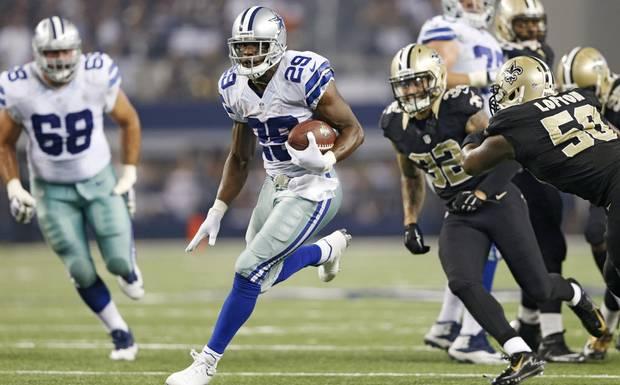 DeMarco Murray et les Cowboys surprennent (photo : dallas news)