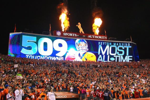 509. Le chiffre de la semaine, celui du record de TD de Peyton Manning (Getty Images)