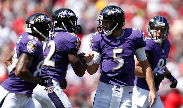 Joe Flacco et les Ravens s'affirment chaque semaine (photo : Getty Images)
