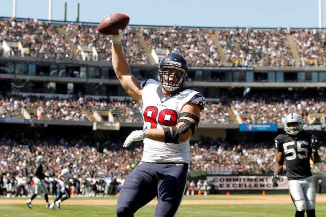 Jusqu'où J.J Watt peut emmener les Texans ? (photo : thesudburystar.com)