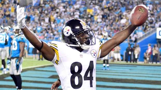 Antonio Brown est le receveur numéro 1 de la NFL cette saison (USA Today)