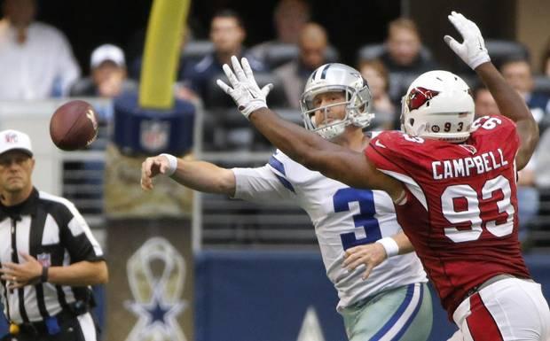 La défense d'Arizona était trop forte pour Brandon Weeden (Dallas News)