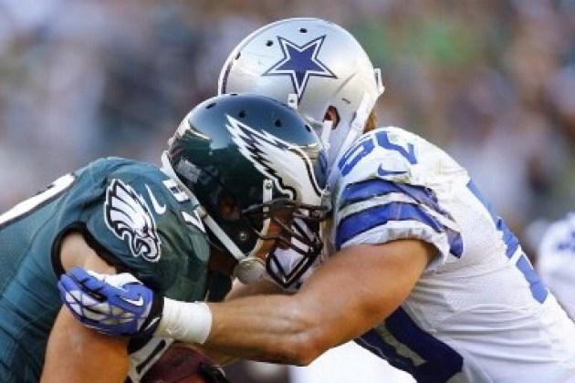 Les Eagles et les Cowboys sont aux coudes à coudes dans la NFC East (Getty Images)