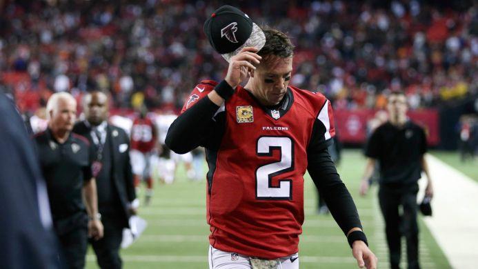 Matt Ryan et les Falcons sont leaders malgré leur bilan négatif (Fox)