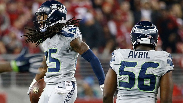 2 interceptions pour Richard Sherman, et une grosse performance de la défense de Seattle
