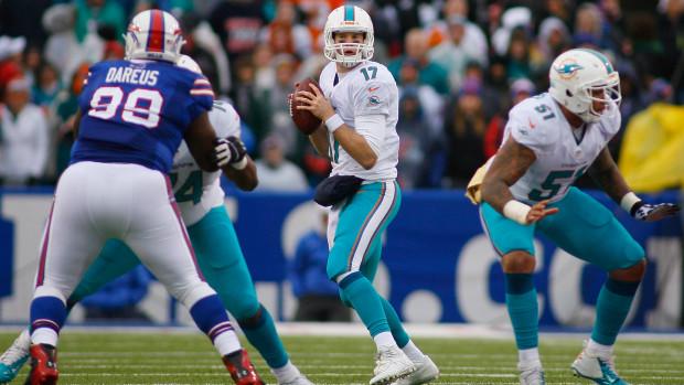 Ryan Tannehill a lancé 9 touchdowns pour 2 interceptions sur les 5 derniers matchs (4 victoires) - (Getty Images)