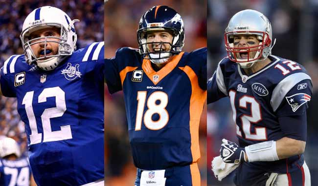 3 champions menés par 3 top Quarterbacks (photo : meridiano)