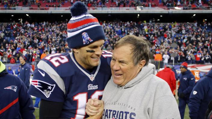 Brady, Belichick et les Pats encore au sommet de l'AFC (Sun Sentinel)