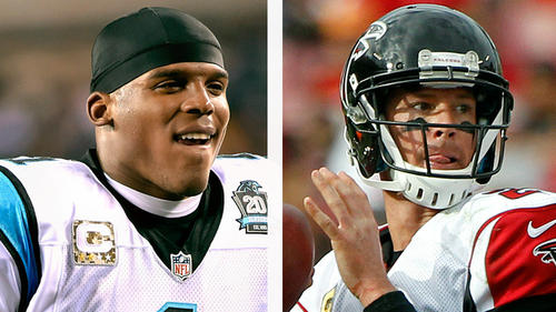 Cam Newton vs Matt Ryan, le duel de la finale de la division NFC South (Chicago Tribune)