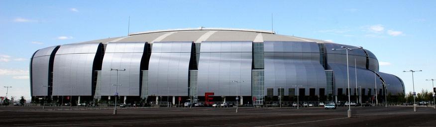 Prise extérieure du University of Phoenix Stadium