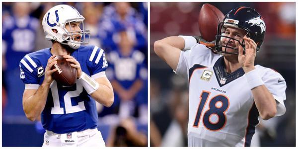 Un match aux allures de passation de pouvoir entre Manning et Luck