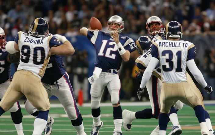 Le Super Bowl XXXVI, le début de la légende de Tom Brady