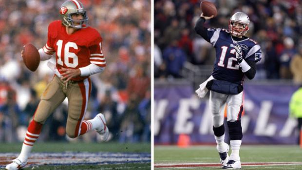 Qui est le plus grand ? Joe Montana ? Tom Brady ? Chacun son idée, impossible de se tromper.