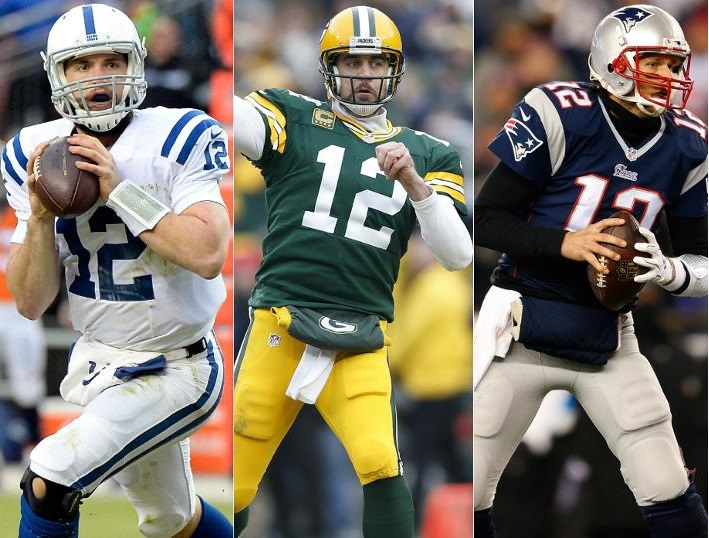 Andrew Luck / Aaron Rodgers / Tom Brady (Sportsonearth)