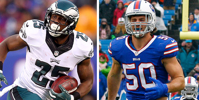 Le premier trade de l'intersaison : McCoy à Buffalo, Alonso à Philly (CSN)