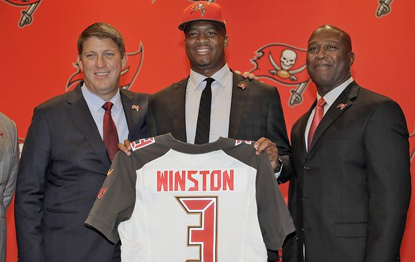 Jameis Winston, numéro 1 de la Draft 2015 (PalmBeachPost)
