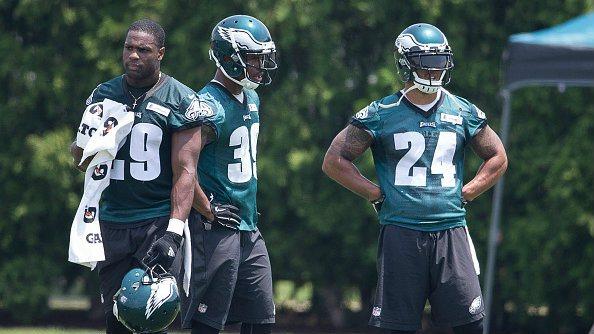 Avec Murray et Matthews, le backfield des Eagles est le plus intimidant de la NFL (CBS)