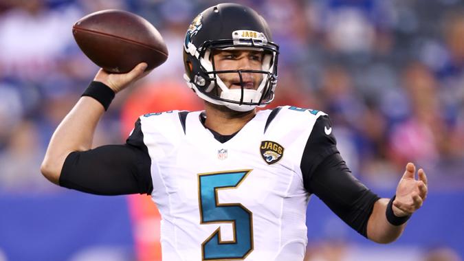 Blake Bortles doit progresser pour sa 2ème saison en NFL (Jaguars.com)