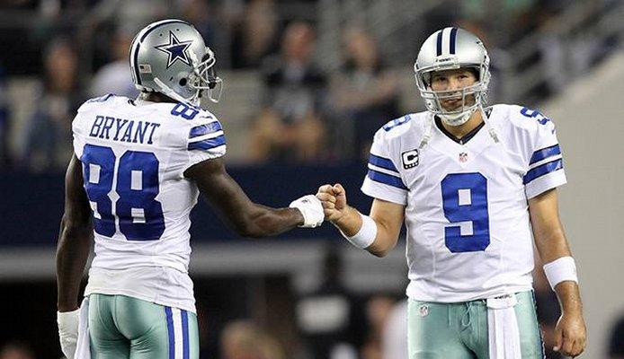 Tony Romo et Dez Bryant vont mener l'attaque des Cowboys (InsideTheStar)