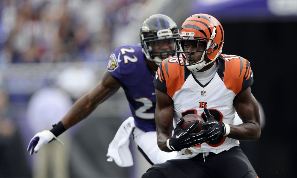 Performance de haut vol pour A.J Green face aux Ravens (USA Today)