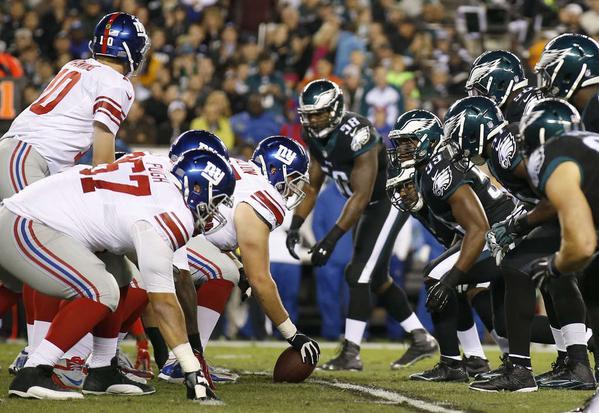 Le choc Giants vs Eagles clôturera cette week 6.
