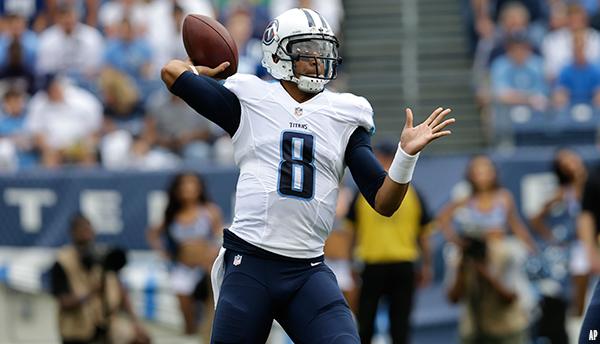 Mariota a démontré qu'il était prêt pour la NFL (AP)