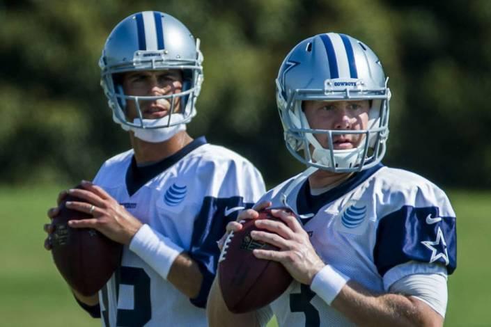 Matt Cassell (16) remplacera Brandon Weeden (3) lors du prochain match des Cowboys (Dallas News)