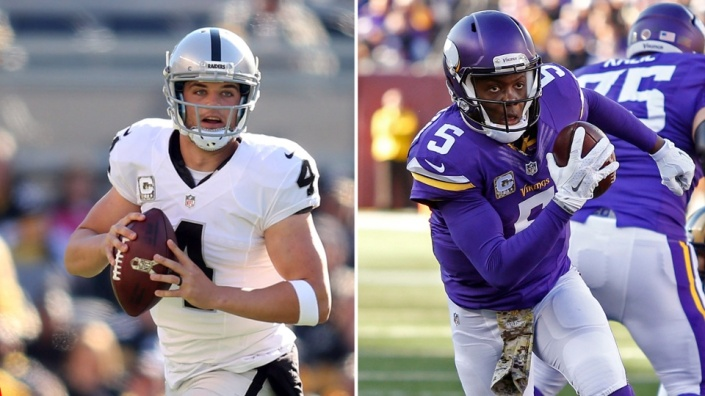 Carr vs Bridgewater, un des beaux duels du week-end (Fansided)