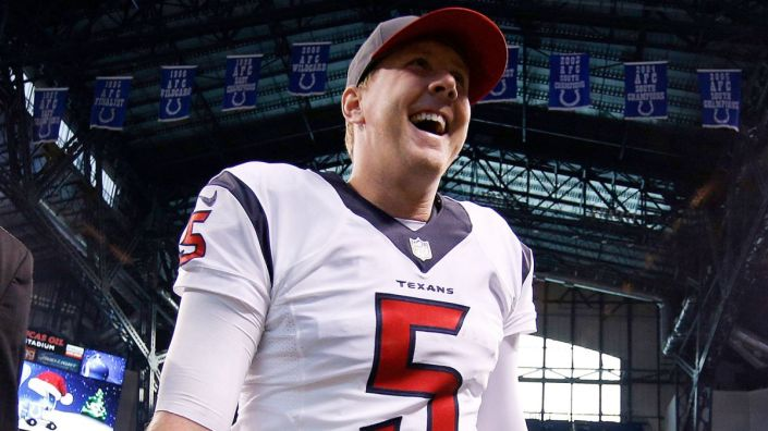Brandon Weeden, sauveur des Texans ? (Brian Spurlock - USA Today Sports)