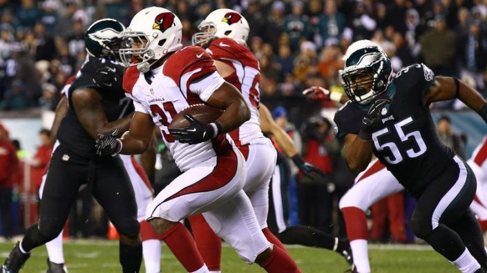 Gros match de David Johnson face aux Eagles (USATSI)