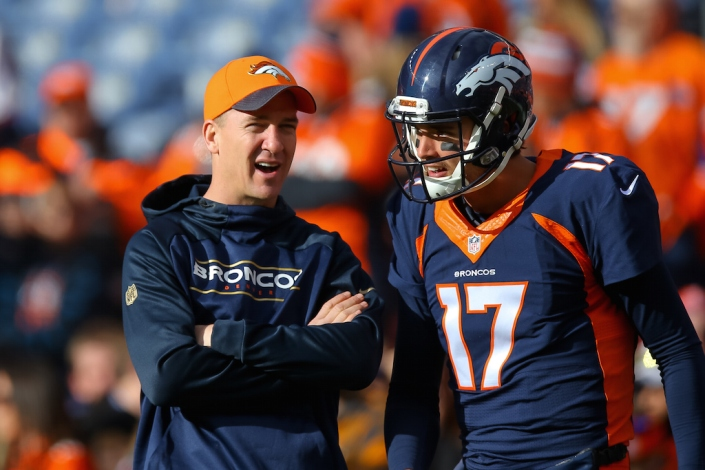 Quel QB doit jouer les playoffs pour Denver ? (Justin Edmonds - Getty)