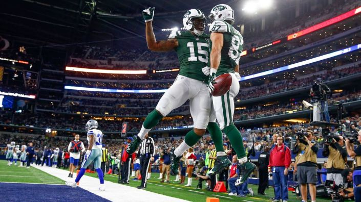 21 TD cette saison pour le duo Brandon Marshall - Eric Decker (Kevin Jairaj - USA Today)