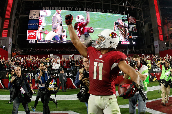 Grosse performance de Larry Fitzgerald, dont le TD de la victoire (Christian Peterson - Getty)