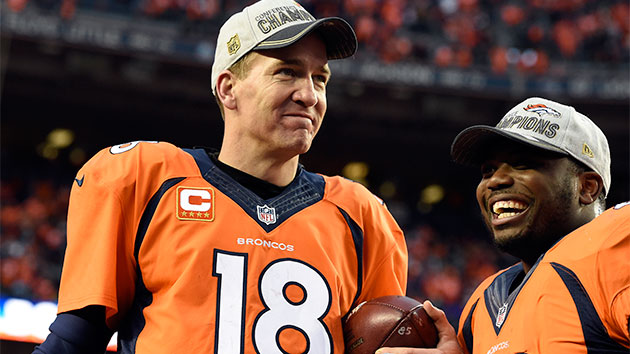 Peyton Manning jouera son 4ème Super Bowl (John Leyba, The Denver Post, via Getty)