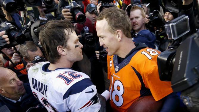 Immense respect entre deux légendes (AP)