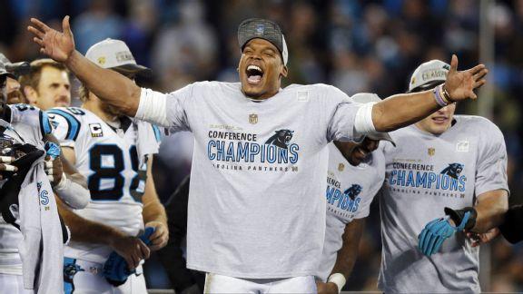 Les Panthers sont champions NFC (ESPN)