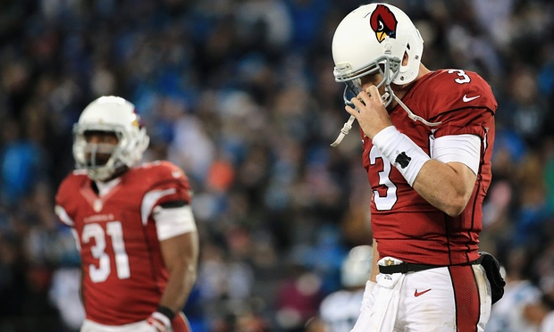 Fin de saison brutale pour Carson Palmer (Mike Ehrmann, Getty)