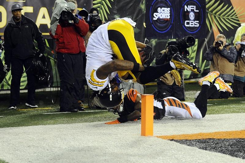Touchdown acrobatique pour Martavis Bryant (Reuters)