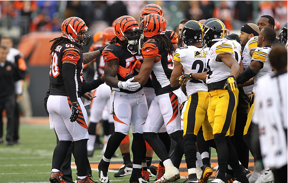 Il y aura de la tension entre les Bengals et les Steelers (John Grieshop - Getty)