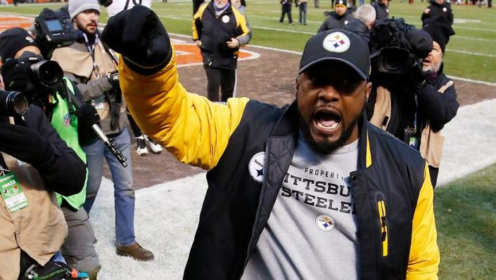 Les Steelers de Mike Tomlin sont en playoffs ! (Getty)