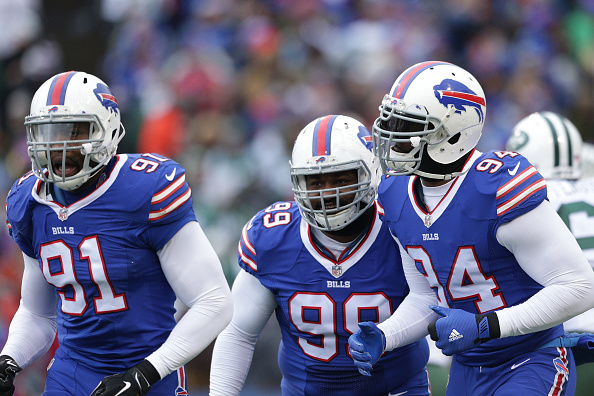 Les Bills vont devoir gérer leur salary cap durant l'intersaison (Brett Carlsen, Getty)