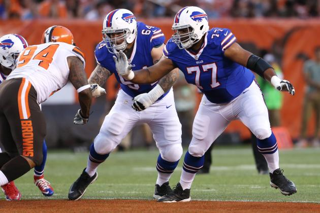 Les Bills ont des décisions à prendre sur la ligne offensive (Ron Schwane, AP)