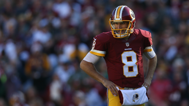 Kirk Cousins, le futur des Redskins... (Patrick Smith, Getty)