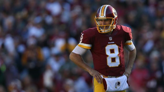 Kirk Cousins, le futur des Redskins... (Patrick Smith, Getty)