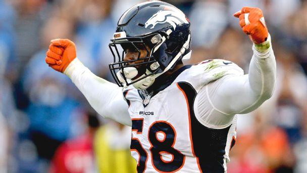Von Miller va devenir l'un des défenseurs les mieux payés de la NFL (ESPN)