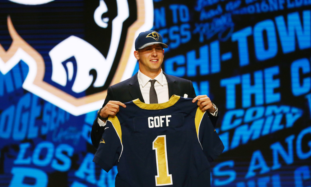 Jared Goff, n°1 de la Draft 2016