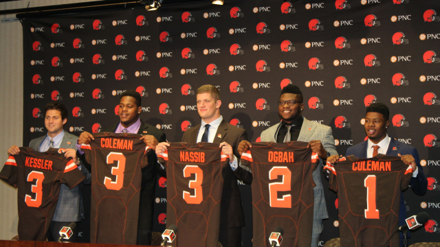 La classe 2016 des Browns (CBS)