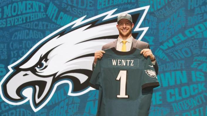 Carson Wentz, n°2 de la Draft et nouveau QB des Eagles (the forum)