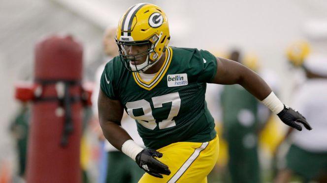 Premiers entraînements comme Packers pour Kenny Clark (USA Today)