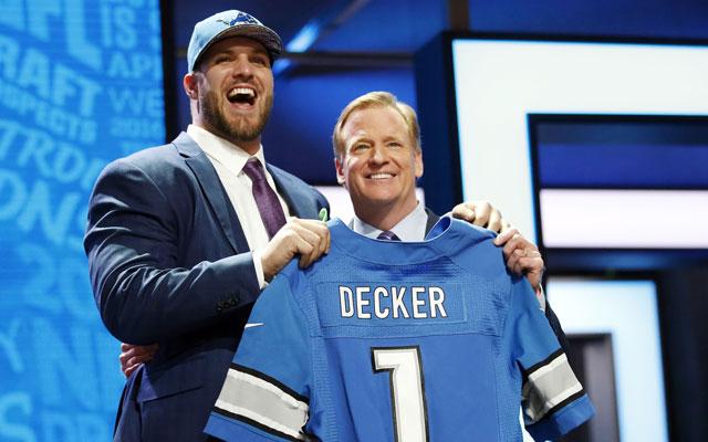 Taylor Decker à l'air heureux de rejoindre MoTown (USA Today)